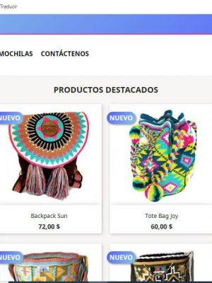 Diseño tiendas virtuales, diseño de páginas web, diseño web, sitios web.